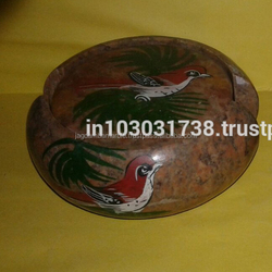 Soapstone painted Birds Coasters in Agra