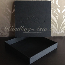 Luxury Logo Stamp Cardboard Paper Box Logo Embossing Box