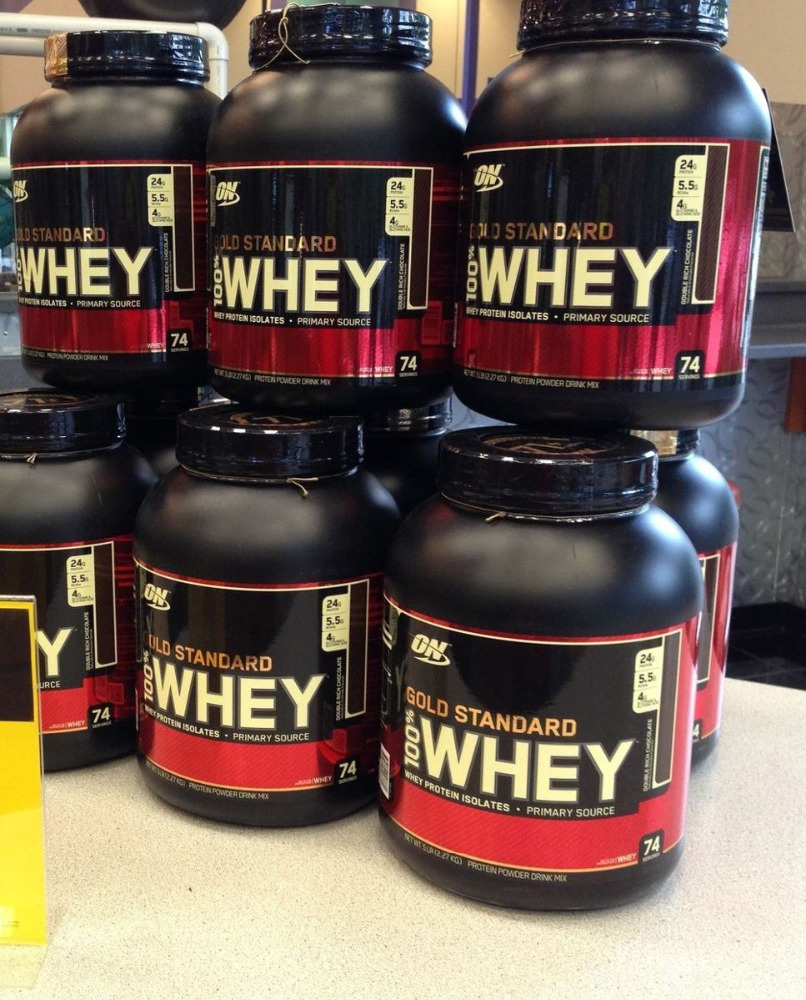Made in USA Optimum Sports Nutrition Supplement Powder Whey Protein!!!!