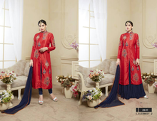 New designs textile fashion dress salwar kameez suit evening dress latest long kurti designs