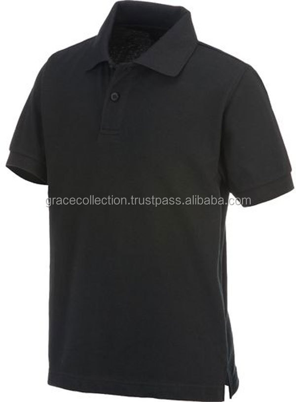 Kids Primary School Uniform Custom Service Kids Polo Shirts