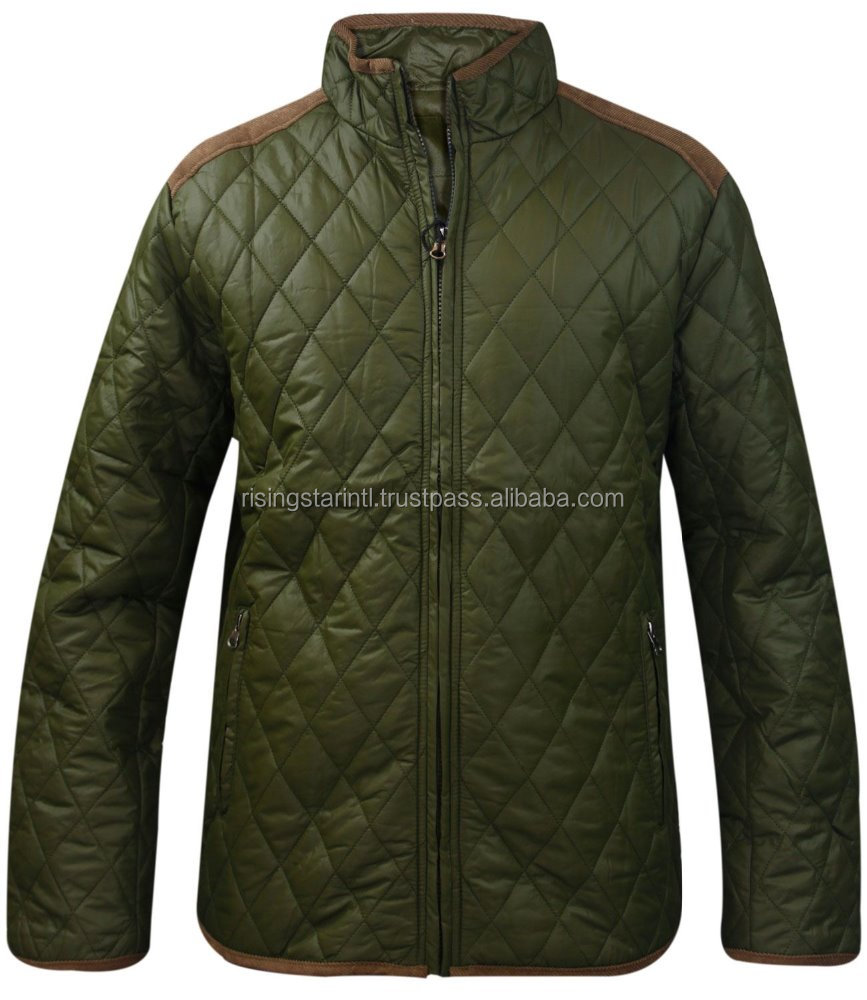 Padded Quilted Puffer Winter Jacket Coat
