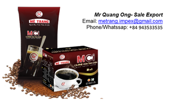 Instant coffee bulk with your own brands and logo from Viet Nam