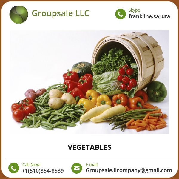 Export Quality Best Vegetable/ Vegetables Available for Supply