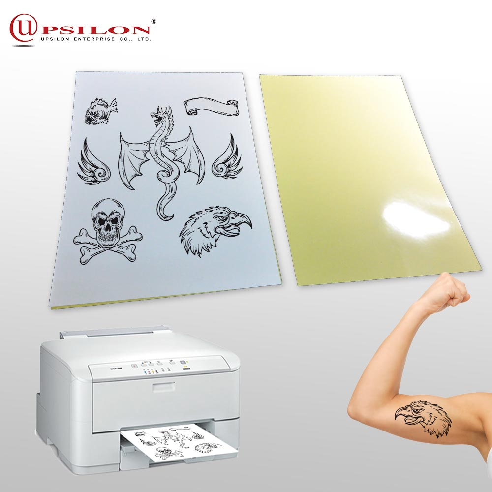 Easy Use Laser Print Tattoo Ditto Paper