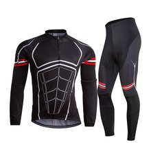 Adults age group and jackets style cycling winter jacket set