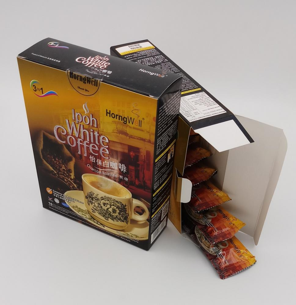 Rich and Premium Charcoal Roasted Instant Ipoh White Coffee