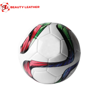 Pakistan Manufacture Competition Hand-Stitched Promotion Soccer Ball