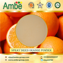 Light Orange coloured Spray Dried Orange Powder