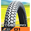 BEST QUALITY TUBE TPE TIRE STANDARD PATTERN 01 FOR MOTORCYCLE