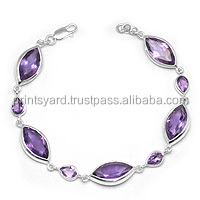 Indian Design Hot Sale Amethyst 925