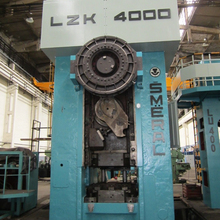 SMERAL LZK 4000 HOT FORGING PRESS
