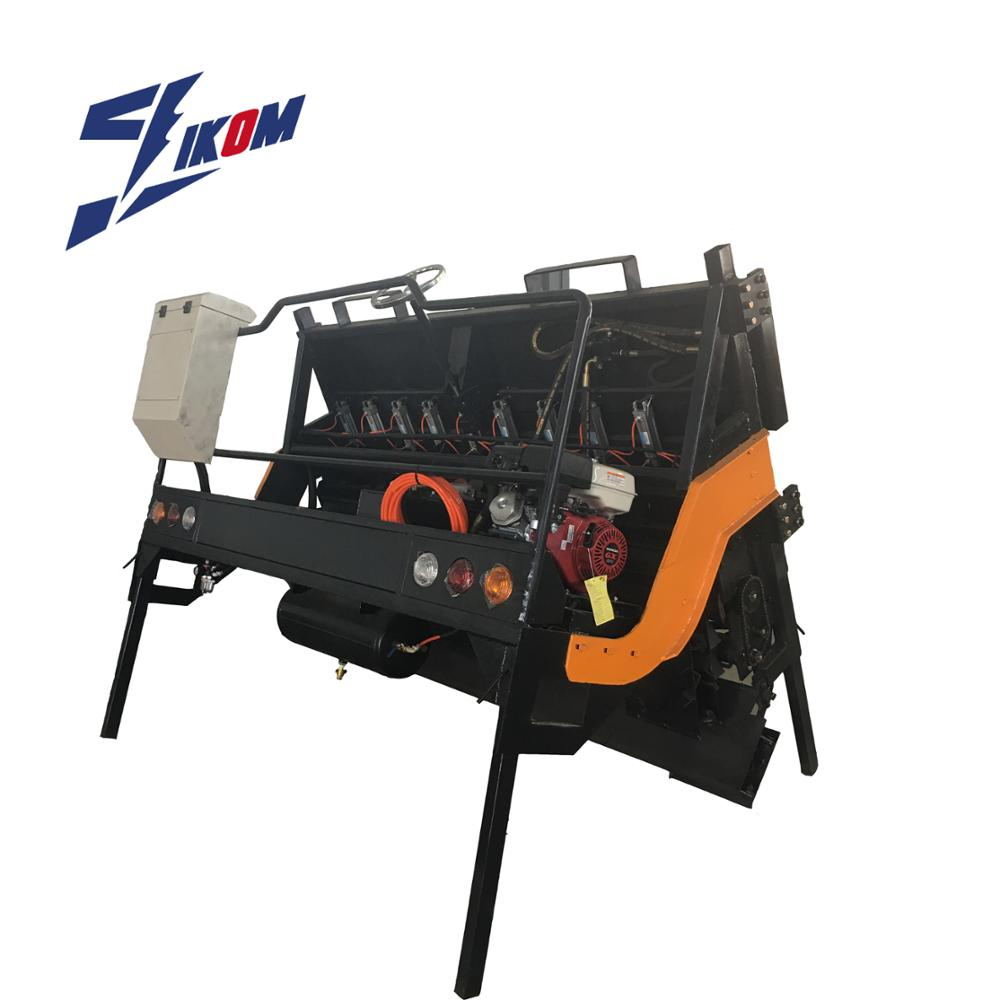 Road chipping stone spreader machinery in hangzhou IKOM