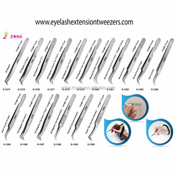 Professional Eyelash Extension Tweezers / Eyelash Extension Tweezers / Get The Tweezers With Your Own Brand Name From ZONA