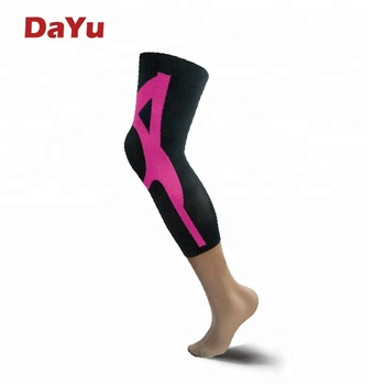 Sports Graduated Compression Leg Sleeves Leg Protection Made in Taiwan