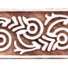 New indian handamde decorative floral wood stamps handcarved printing block wooden stamp textile stamp fabric block