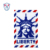 Embroidery design Liberty Luggage Tag Mosaic Cross Stitches Pattern