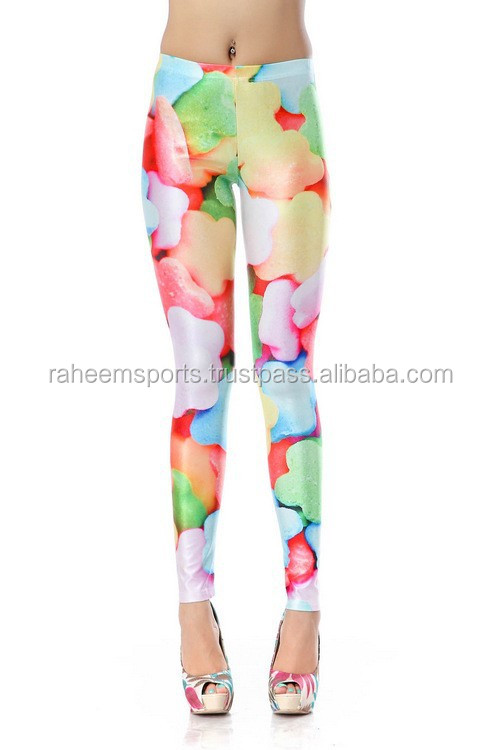 PENTAGRAM SKITTLES DIGITAL PRINTING SEXY GALAXY LEGGINGS PRINTED TIGHTS