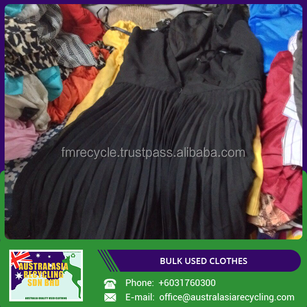 Premium Quality Used Clothing for Europe