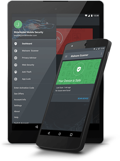 Bitdefender Mobile Security 2017 1 User 1 Year free region Online Code