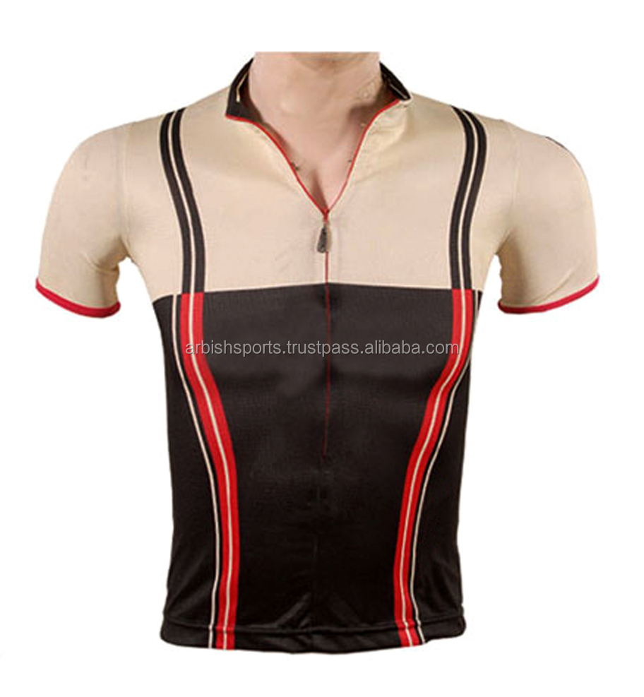Cheap Sublimated Black , Skin Pink & Red Cycling Clothing / Cycling Wear / Cycling jersey