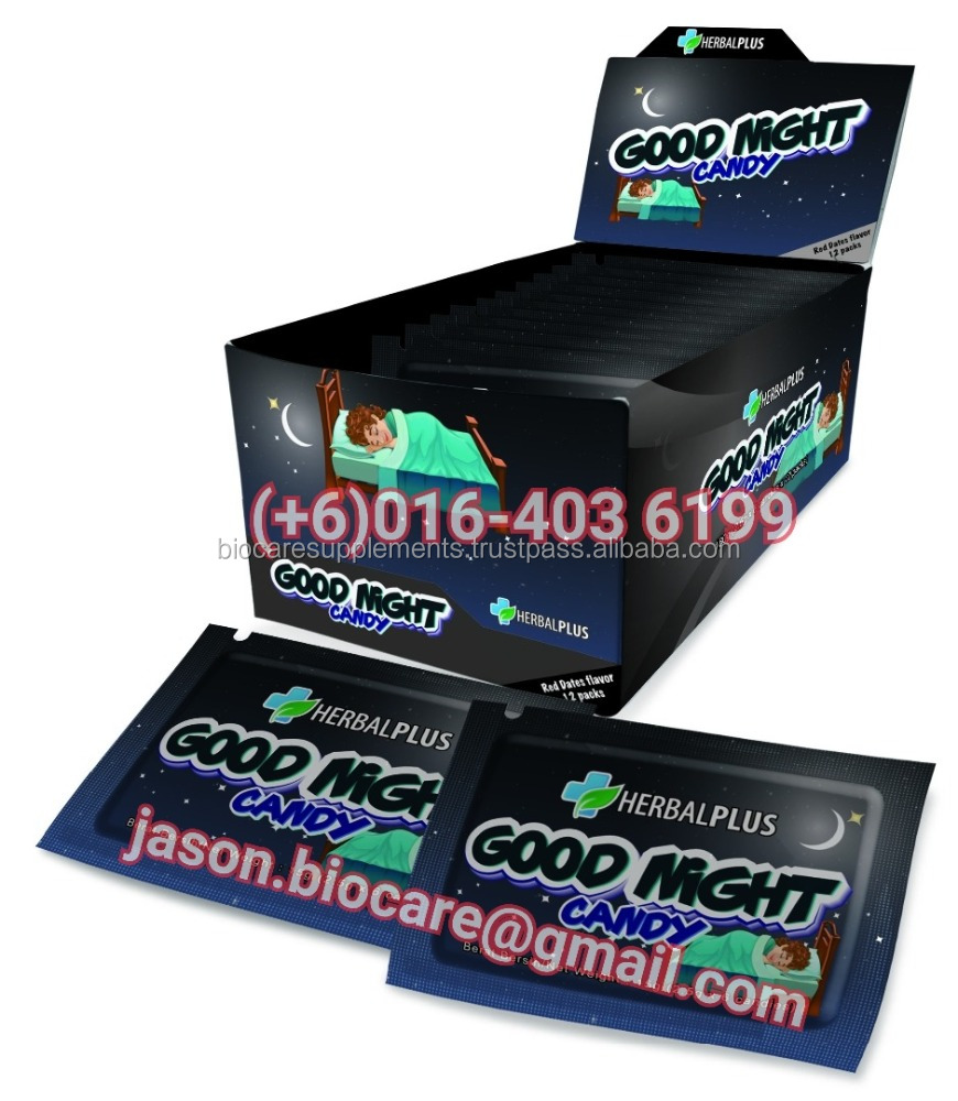 GOODNIGHT CANDY (3.5g X 6 Candies X 12 Packs Per Box)