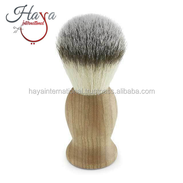 HISB34 Hot Selling Custom Design wood Handle Badger Shaving Brush