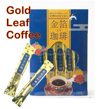 Gold Leaf Coffee Japanese high quality premium gift present instant coffee brands