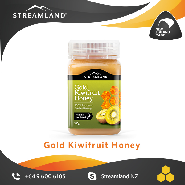 Natural honey Vitamin C Fresh Pure New zealand Kiwifruit honey