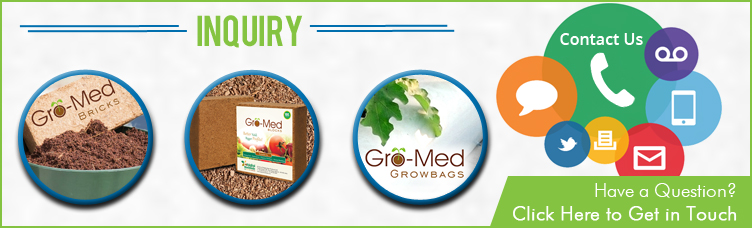 Gro-Med Coco Bricks (Fine / Coarse)