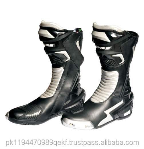 Latest design Quality Leather racing motocross boot/New Style Motocross Boots / Motorcycle