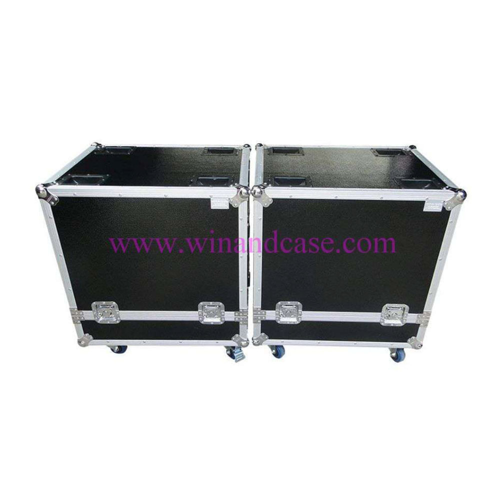 Flight case for Yamaha DXS18 with castors made in Thailand
