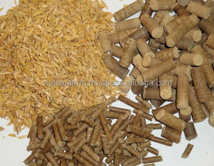 Supply Rice Husk pallets & briquette with high quality and best price from Viet nam