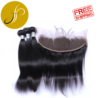 FREE SHIPPING Pearlcoin 3 Bundle + 13*4 Frontal High Grade Remy Virgin Human Hair Silky Straight Wholesale