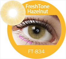 Freshtone Super Naturals , intense Hazelnut best quality colored cosmetic contact lens
