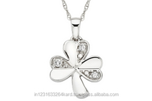 18k 14k diamond necklace and pendent for gifting and marriage
