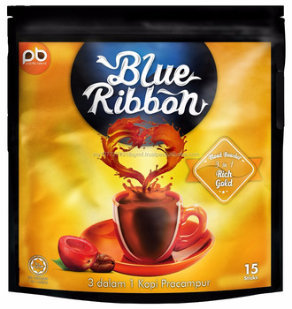 Blue Ribbon 3 in 1 Rich Gold coffee