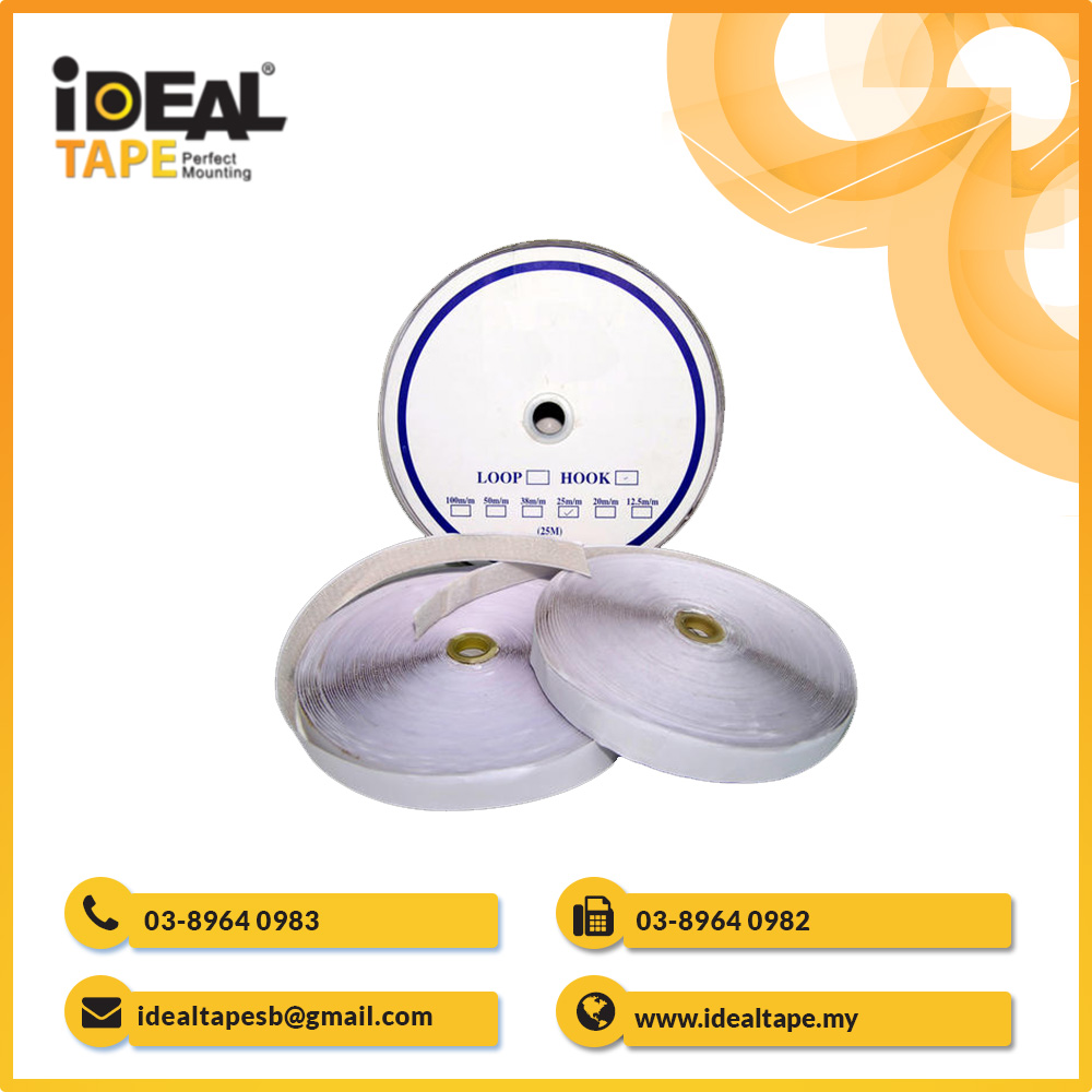 Hook and Loop Adhesive Velcro Tape