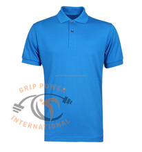 100% cotton Golf Polo T Shirts , Custom design with embroidered logo dress shirt