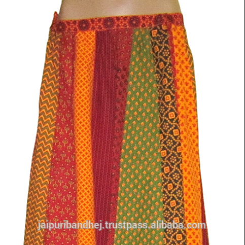 Indian traditional banjara unique design printed long skirt