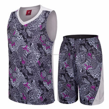 Wholesale custom basketball apparel Latest Basketball Jersey and shorts Design Sublimation Reversible