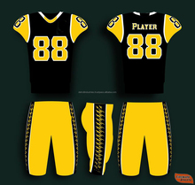Wholesale custom design youth American football uniforms/ Pants