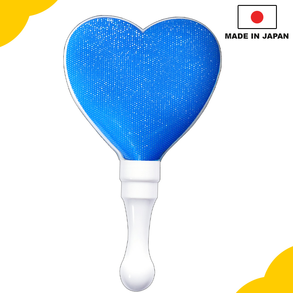Durable and high-performance flashing light, Kirakira Penlight stick heart blue for concert and event, OEM available