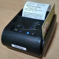 Wireless Thermal Printer with Magnetic Swipe Card Reader