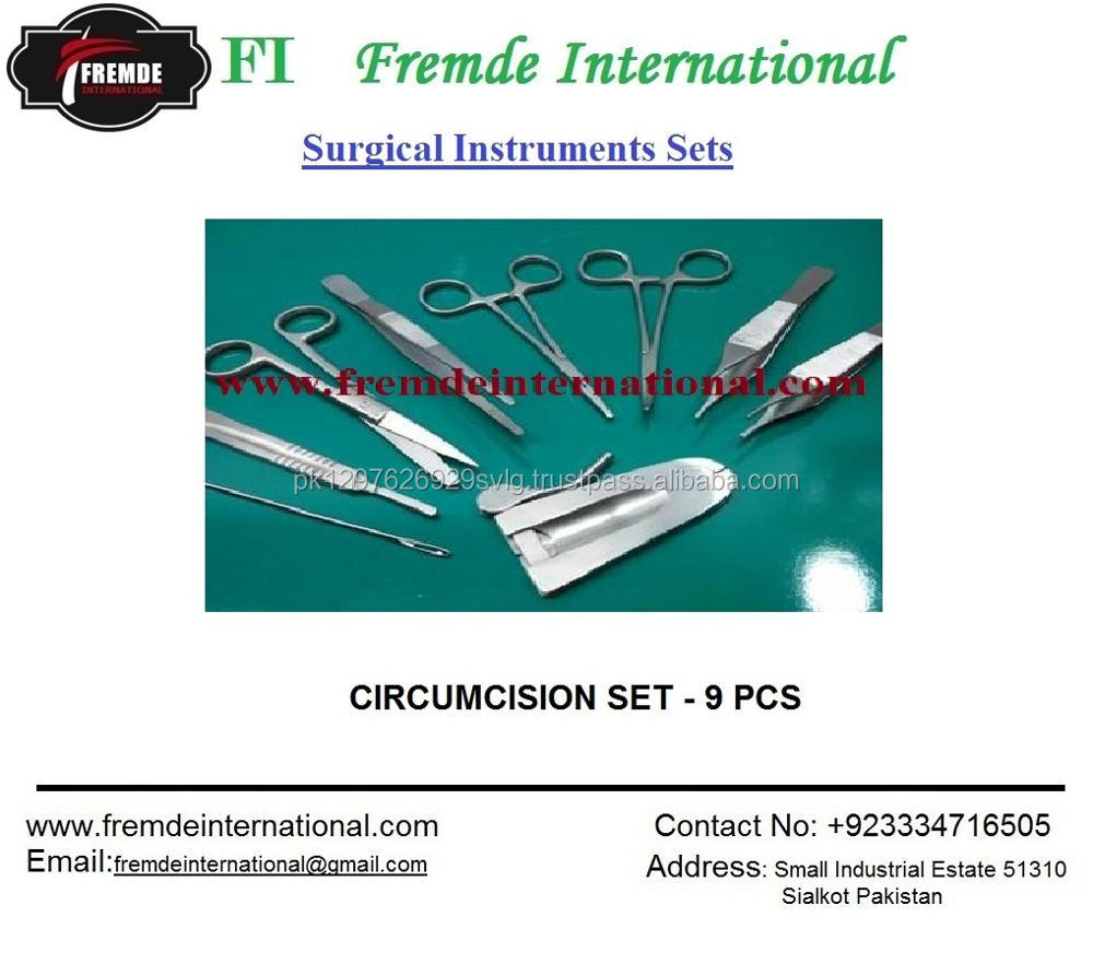 GENERAL SURGERY INSTRUMENTS MAJOR SET OF 100 PIECES CE CERTIFIED
