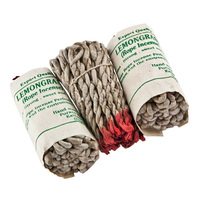 Tibetan Lumbini Rope Incense - Natural Herbs Aromatic Tibetan Incense, Air Purifier