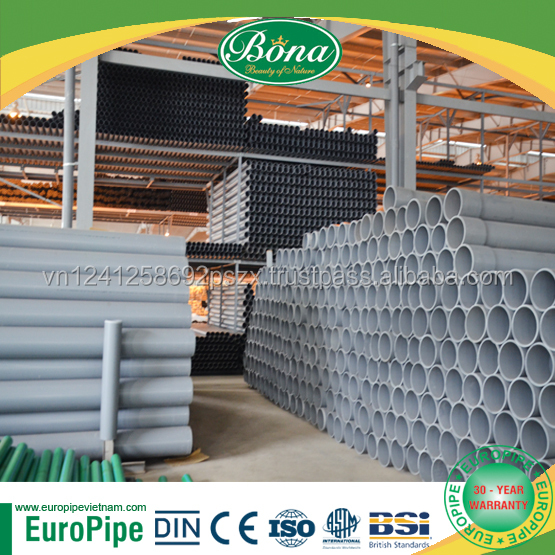 UPVC Pipe for Water Supply, Drainage and Irrigation, pvc pipe 100mm, 200mm, 300mm, 400mm, 500mm high pressure