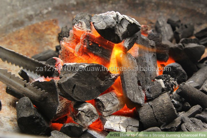 Palm Kernel Shell Charcoal/Lemon and Mangrove Hardwood Charcoal