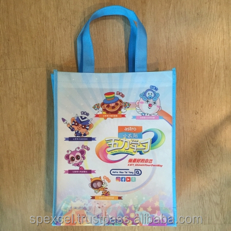 Custom Made Any Size Non Woven Eco Bags with Full colors printing| Good Quality & Reasonable Price | Direct from Penang Factory