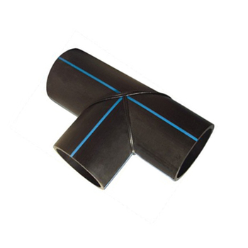 Fabricated Tee 90 degree Hot sale hdpe pipe fittings 30 warranty, longevity more than 50years